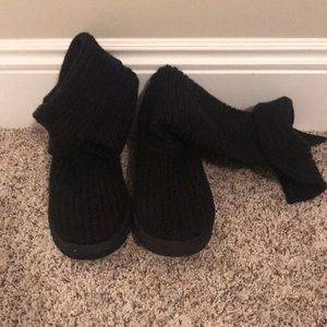 Knit ugg boots size 8